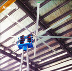 7.3m 24ft HVLS Ceiling Fans High Volume Low Speed With Aluminum Material
