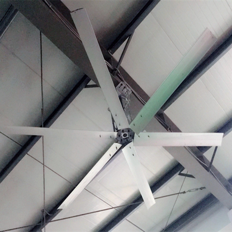 Aipu HVLS High Volume Low Velocity Fans , 2700m 3/Min 3m 110 FT Ceiling Fan