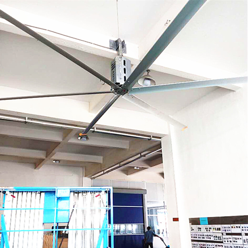 24 FT Factory Ceiling Fans 1.5kw High Velocity Ceiling Fans For Large Spaces
