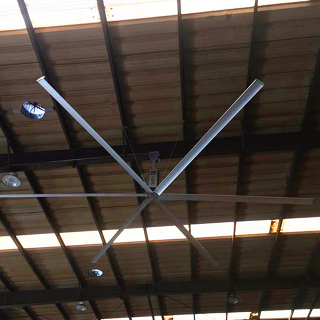 "22ft Aipu Germany ""Nord"" motor large shop ceiling fans with 6blades"