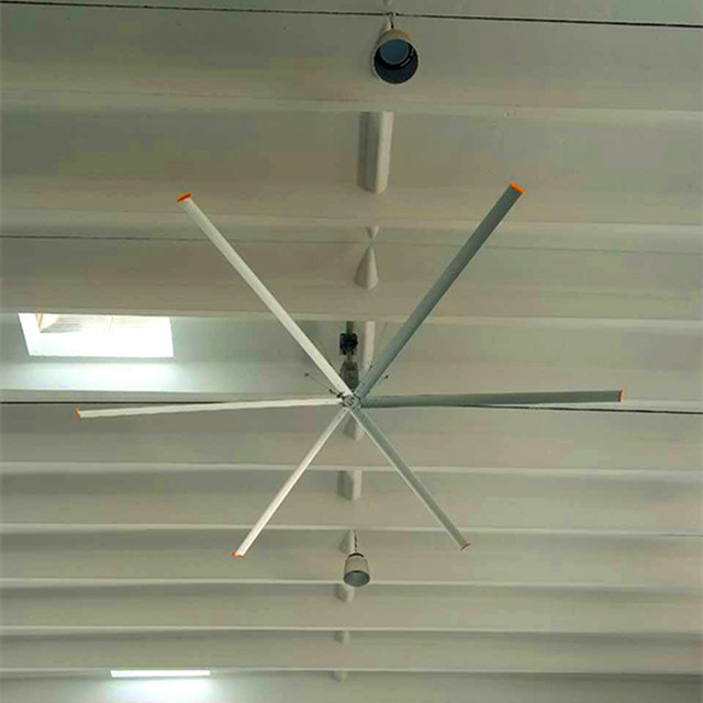 Big Size Ceiling Fan , Large Shop Ceiling Fans With Aluminum Alloy Material